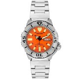 Seiko Orange Monster Stainless Steel Band