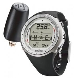 Suunto D9 Wrist-Top Dive Computer Watch without Wireless Transmitter (Titanium)